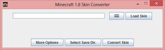 Minecraft Skin Converter