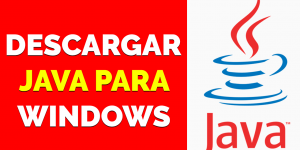 Descargar Java para windows