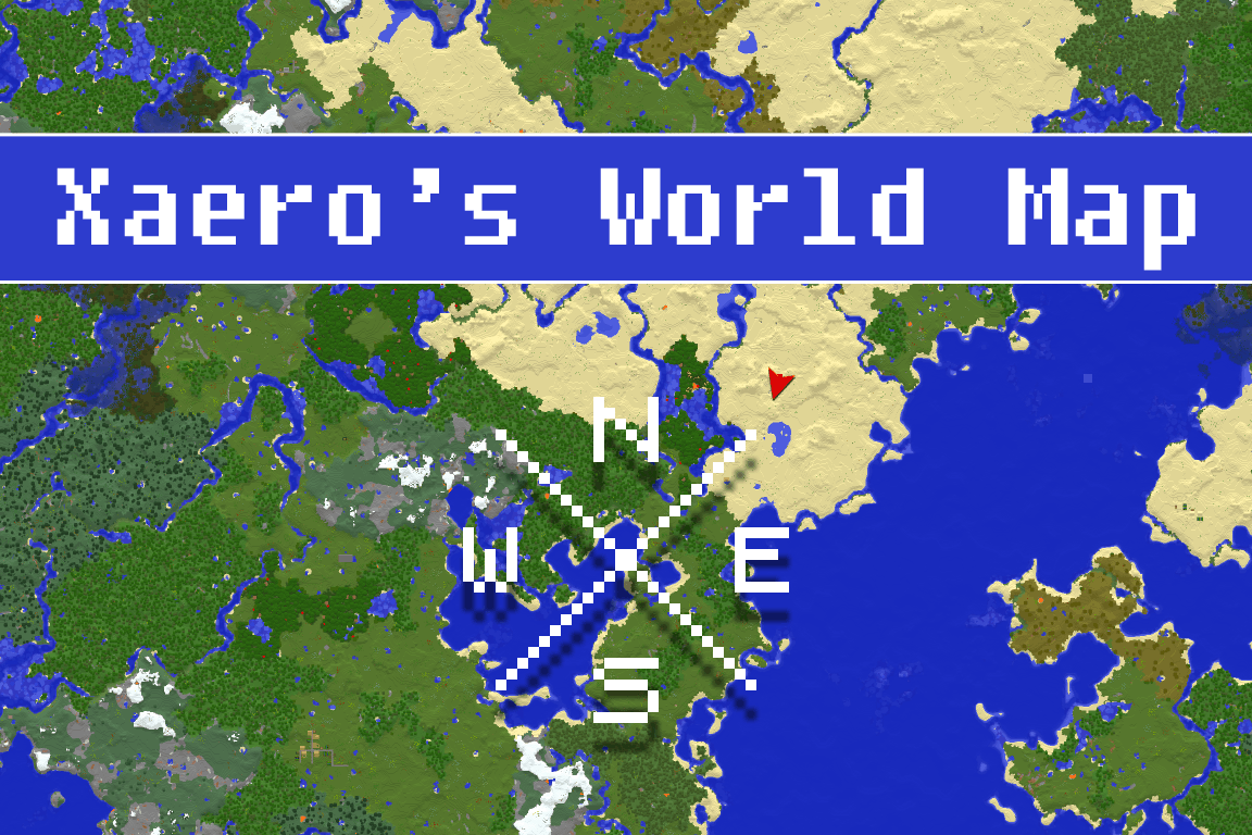 Xaeros World Map