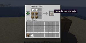 ¿Cómo usar la mesa de cartografía en minecraft?