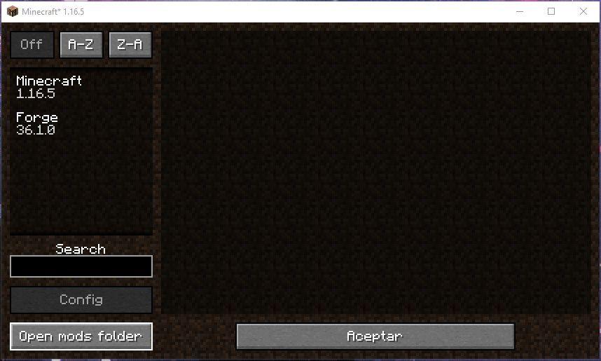 Como instalar mods con Minecraft Forge