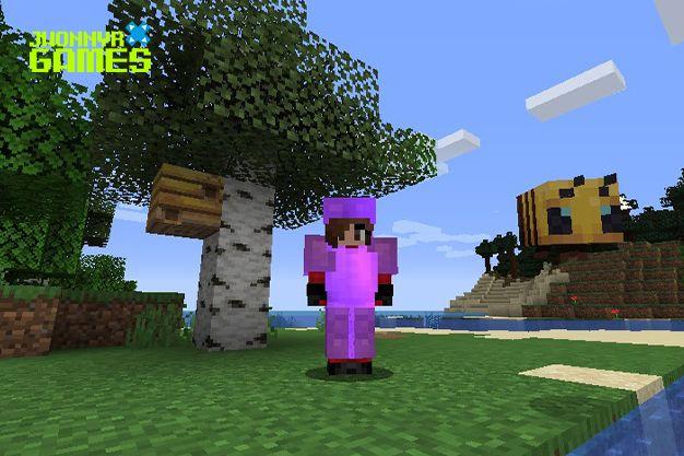 Árbol de abedul en Minecraft