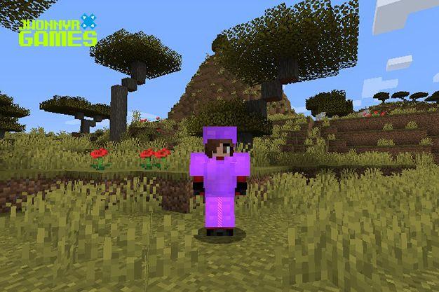 Árbol de acacia en Minecraft