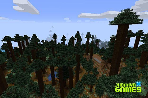Árboles que no se pueden plantar en Minecraft