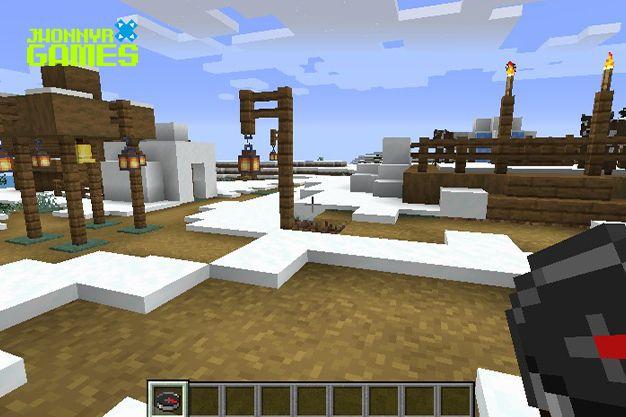 Brújula en Minecraft