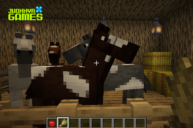 Caballos en Minecraft
