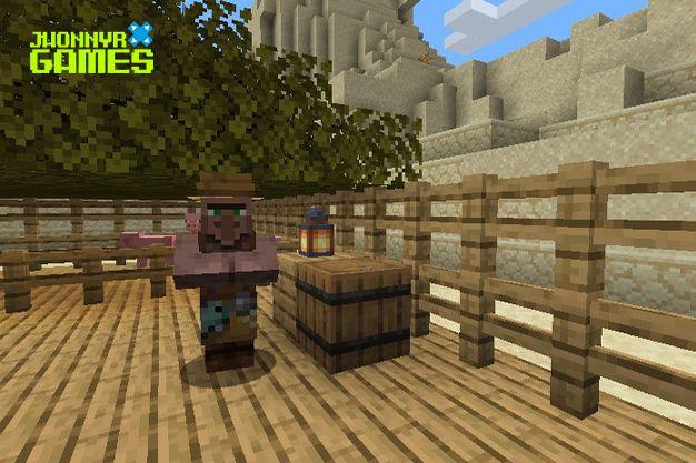 Como craftear barril en Minecraft