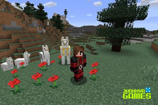 Cómo domesticar llamas en Minecraft