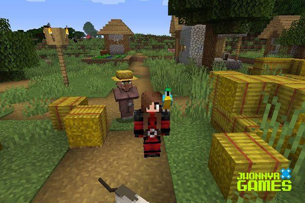 Cómo domesticar un loro en Minecraft
