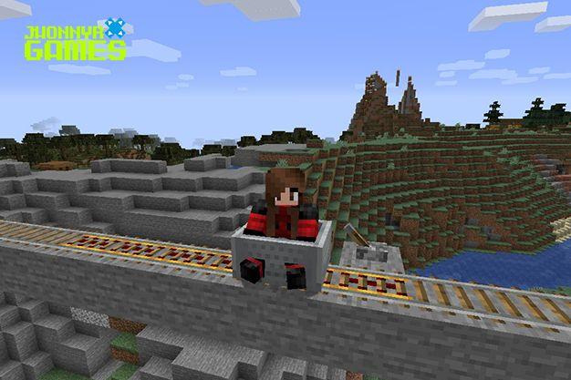 Cómo hacer raíles en Minecraft