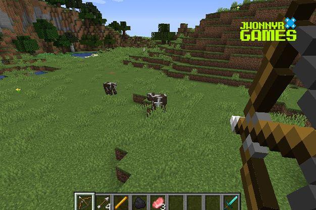 Como usar el arco en Minecraft