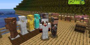 Como usar soporte de armaduras en Minecraft