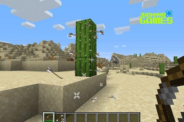 Como utilizar el arco en Minecraft