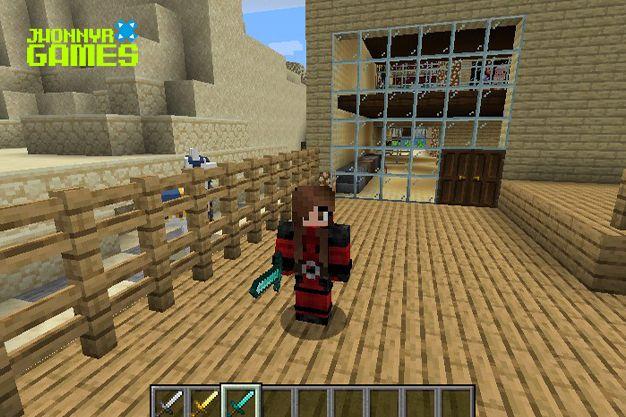 Craftear espadas en Minecraft