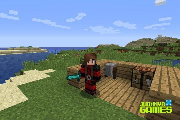 Desencantar armas en Minecraft