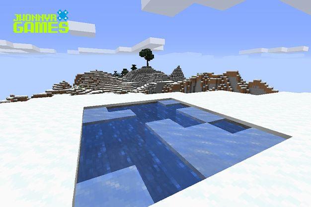 Hielo en Minecraft