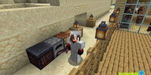 Mesa de herrería en Minecraft