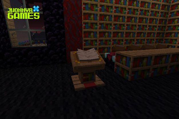 Para que sirve una librería en Minecraft