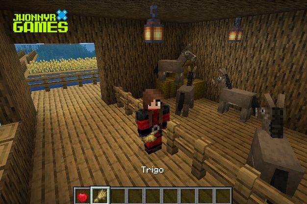 Qué comen los burros en Minecraft
