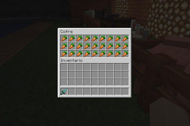 Que comen los cerdos en Minecraft