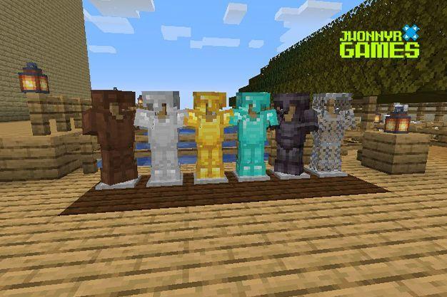 Soporte de armaduras en Minecraft
