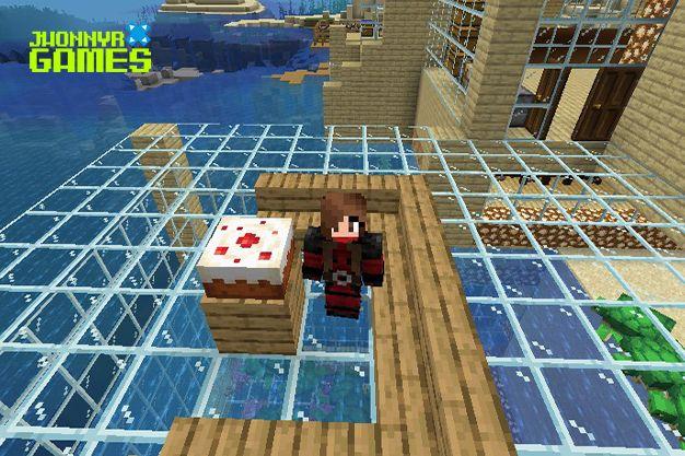 Tarta en Minecraft