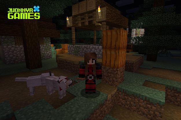 Usos de la cuerda en Minecraft