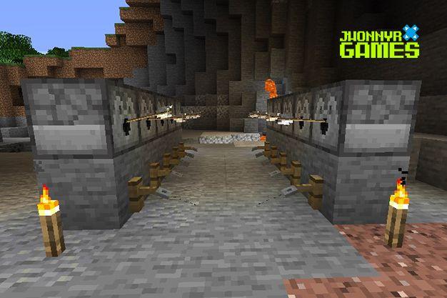 Usos del gancho de cuerda en Minecraft