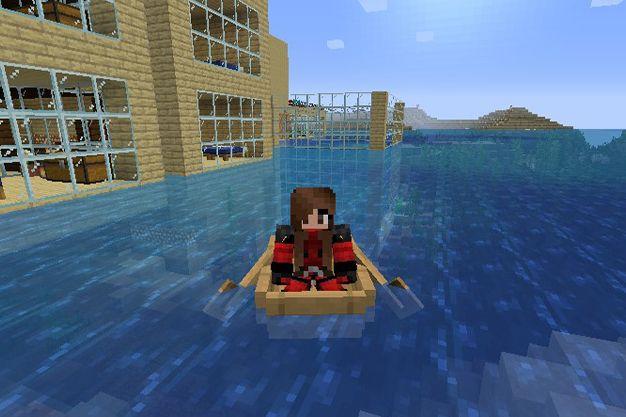 como crear una barca en minecraft