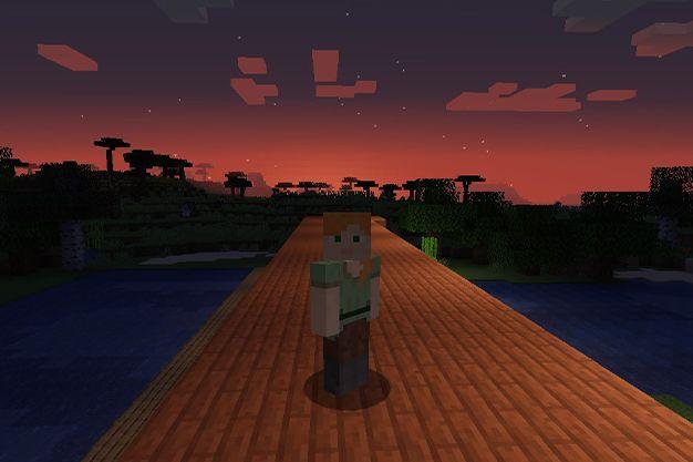 como hacer que se haga de noche en minecraft
