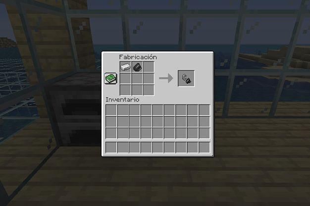 como hacer un mechero en minecraft