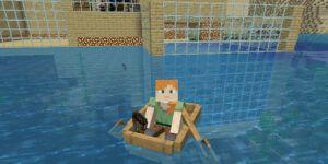 como pescar en minecraft