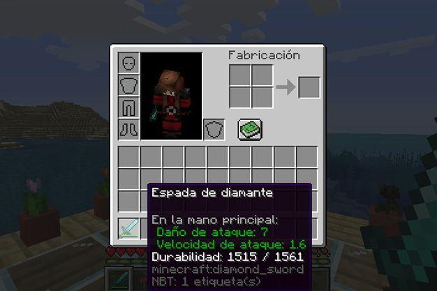 durabilidad en minecraft