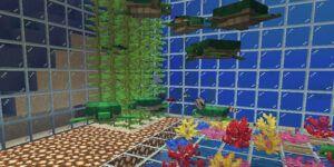 granja para tortugas en minecraft