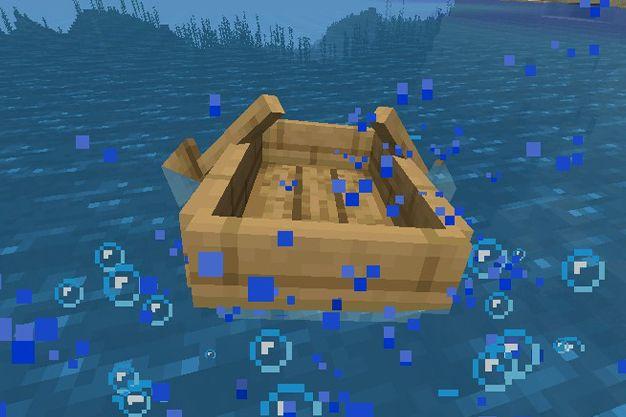 para que sirve una barca en minecraft
