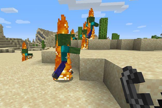 usos del mechero en minecraft